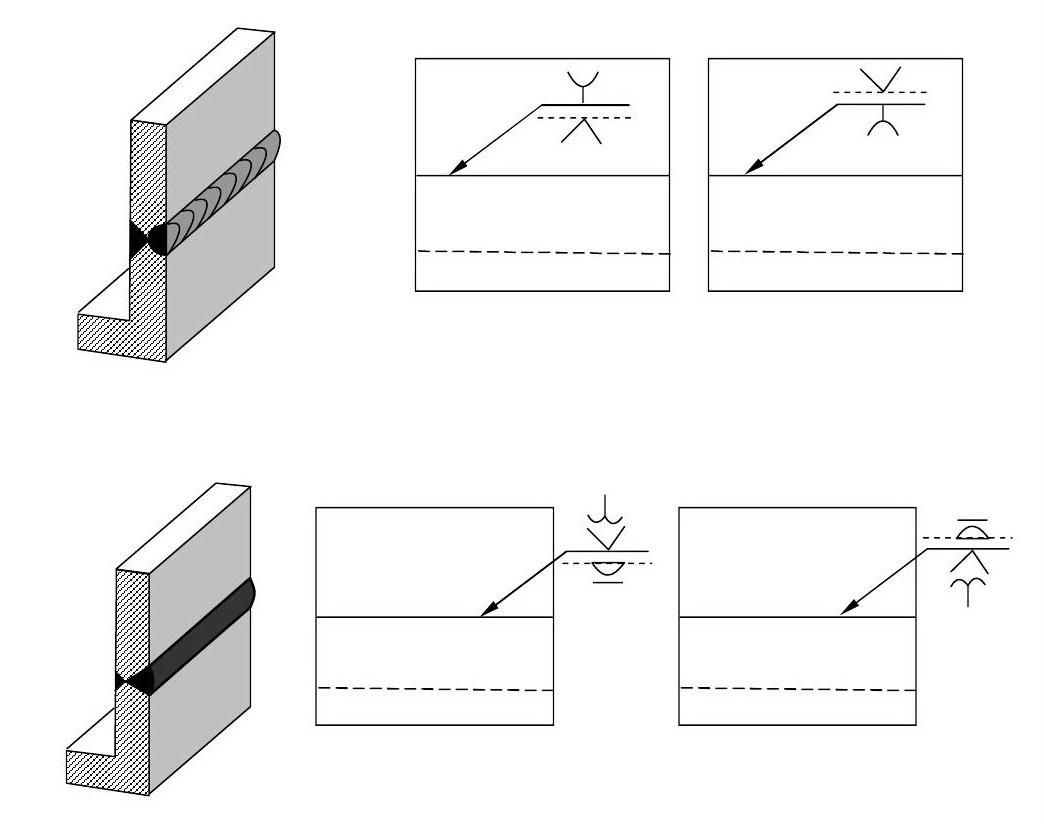 комбинированное обозначение сварных швов