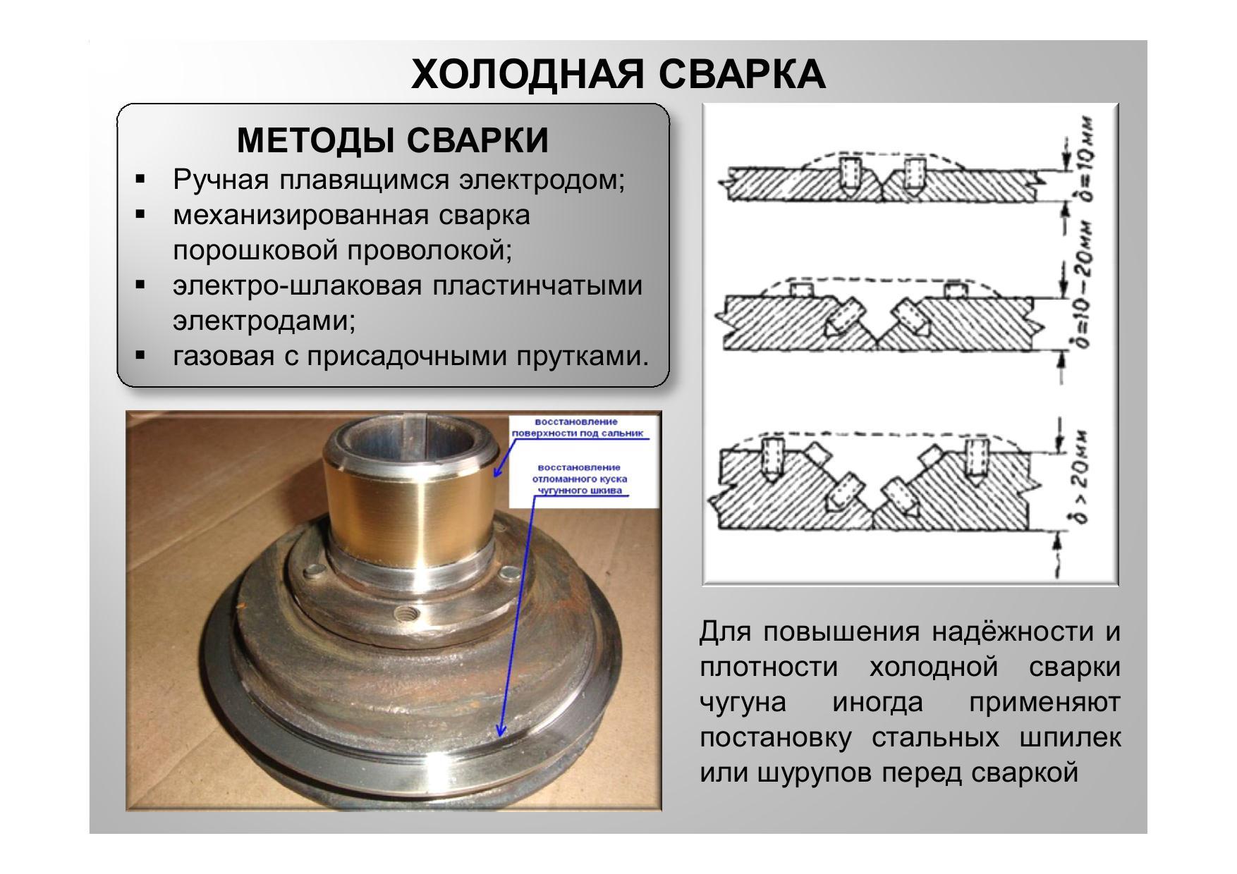 Сварка чугуна инвертором: основные методы 16